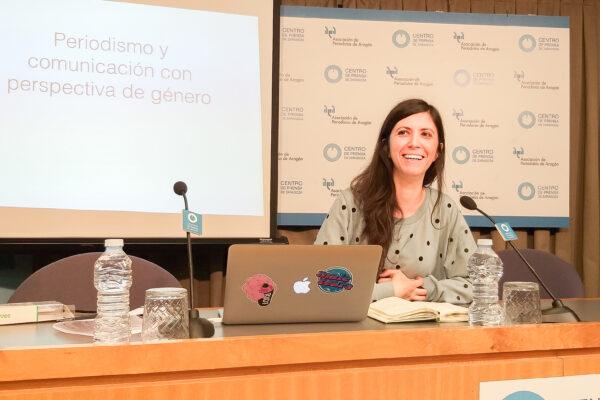 """Ana Requena: """"El tratamiento informativo con perspectiva de género es un criterio de calidad periodística"""""""